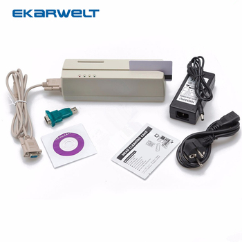 MCR200 Magnetic EMV Smart IC Stripe Chip Card Reader/Writer With SDK For Loco HiCo Track 1 2 3