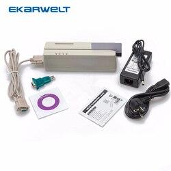 MCR200 magnético EMV Smart IC Stripe Chip lector/escritor de tarjetas con sus para Loco HiCo Track 1 2 3