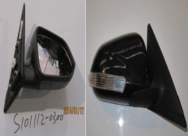 Rétroviseur extérieur de voiture S101112-0100/S101112-0300 pour CHANGAN CHANA CS35