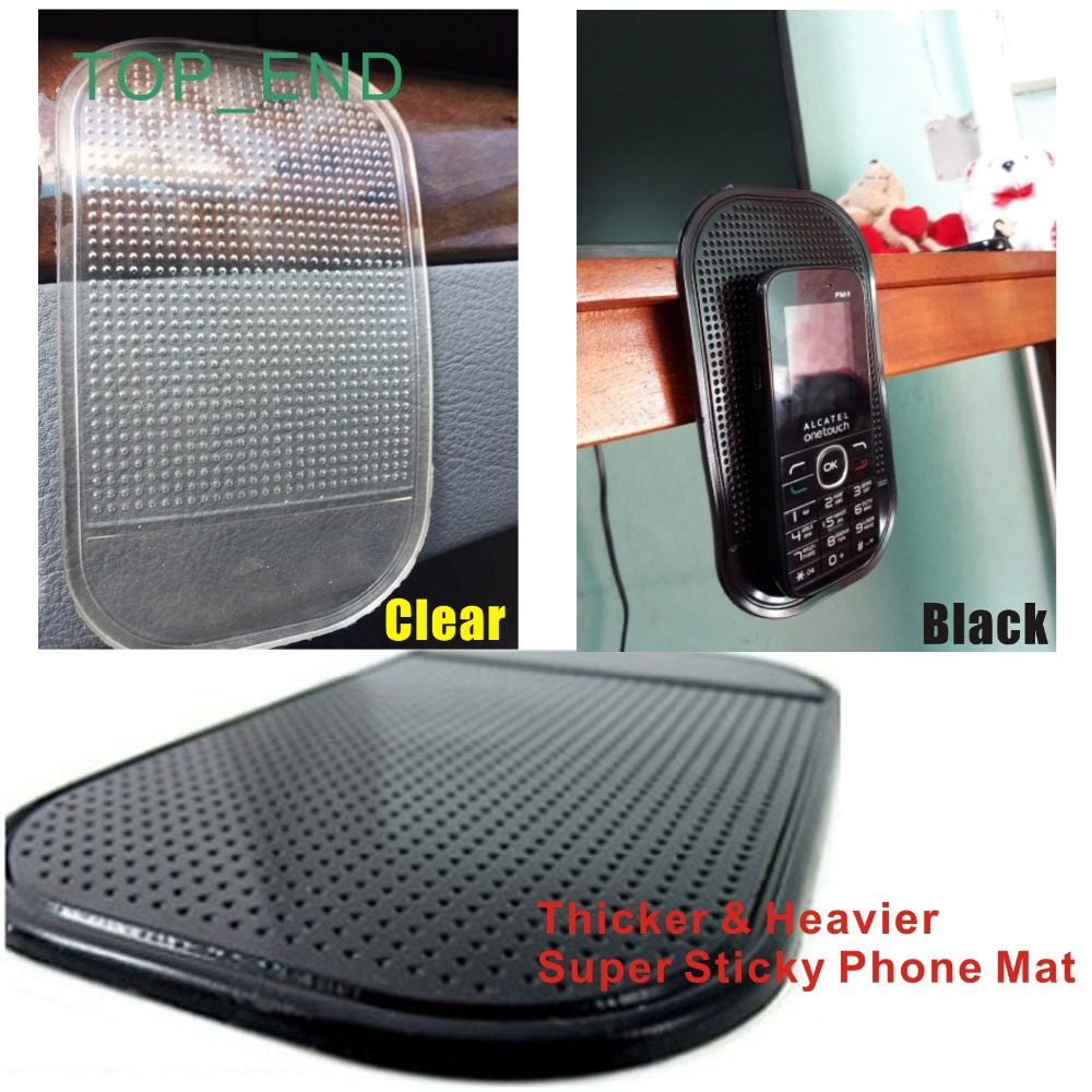 Magic & Super Sticky PU Anti-Slip Mat,Hold Any Mobile Phone/Gadgets,Reusable Mat,Useful,Iphone 4,5,6,7,8,X,Samsung,HTC,LG,SONY