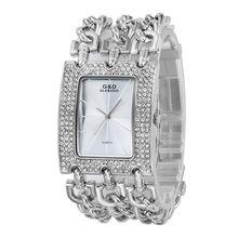2017 Nueva Casual Horloges Vrouwen Relojes Mujeres Relojes Señoras Del Reloj de Pulsera de Cuarzo Correa Grande de Cristal Mujeres Reloj Libera la Nave