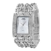 2013 New Casual Bracelet Watch Quartz Big Starp Crystal Men Women Unisex Wathces Wristwatch
