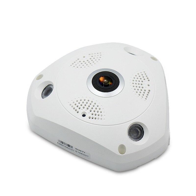 Wifi IP 広角 VR カメラワイヤレス 3MP HD スマート 360 度 Fishey パノラマネットワーク Cctv セキュリティホーム監視カム  グループ上の セキュリティ & プロテクション からの 監視カメラ の中 2