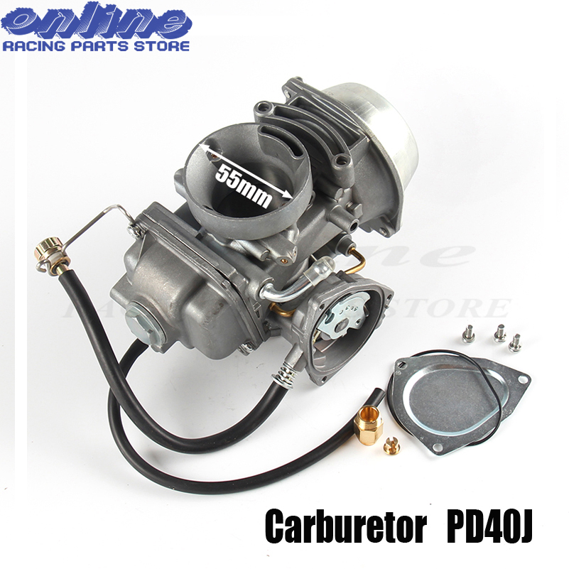 40mm Carb Carburetor PD40J FOR Polaris Sportsman 500 4x4 Carburetor 2001-2013 universal other 400cc to 600cc racing motor ATV atv carburetor carb for polaris ranger 500 assembly 1999 2009