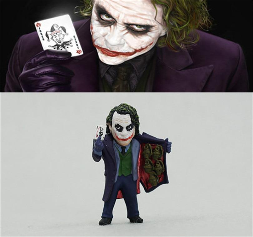 <font><b>Batman</b></font> <font><b>The</b></font> <font><b>Dark</b></font> <font><b>Knight</b></font> <font><b>Joker</b></font> Action figure <font><b>toys</b></font> Heath Ledger <font><b>Joker</b></font> action collection <font><b>model</b></font> PVC <font><b>toys</b></font> 5cm