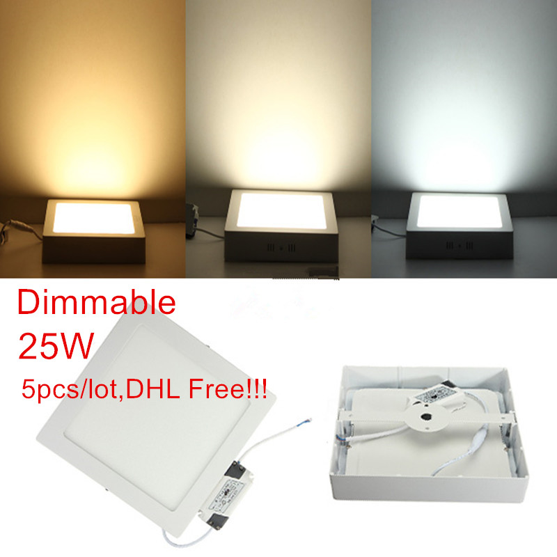 Led Super Bright Ceiling Light Kitchen Light Hallway: Dimmable 25W Super Bright Round LED Surface Mounted