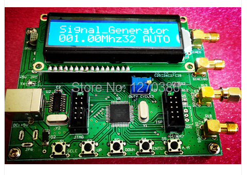 Free Shipping!!! 1pcs AD9850 Module DDS Signal Generator AD9851 sweep function LCD PC control module electronic competition module ad9850 module dds module ad9851 module high frequency signal source