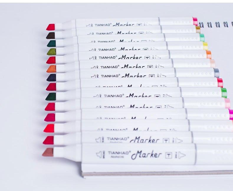Chenyu marcadores 168 colorsalcohol baseado caneta fabricante