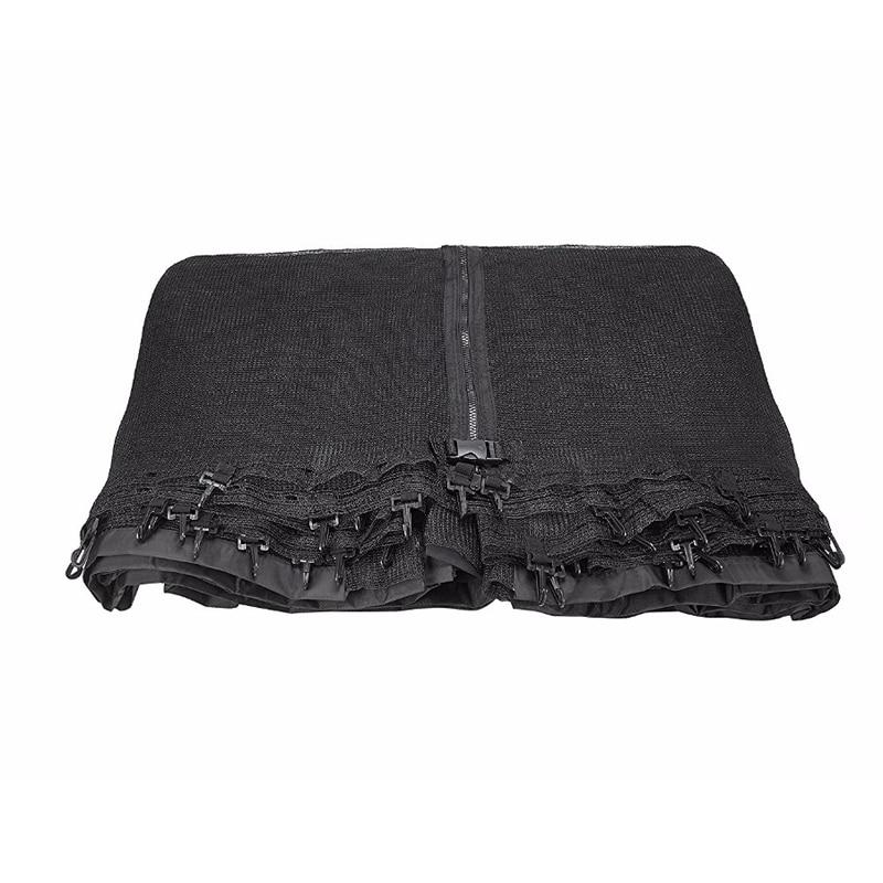 Trampolina obudowa netto ogrodzenia wymiana siatka bezpieczeństwa siatki garnitur dla 6/8/10/12/13/14/15/16-Feet
