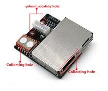 TTL/Modbus485 6 في 1 الفورمالديهايد استشعار درجة الحرارة والرطوبة PM2.5 نوعية الهواء CO2 الاستشعار TVOC وحدة الكشف الليزر الغبار