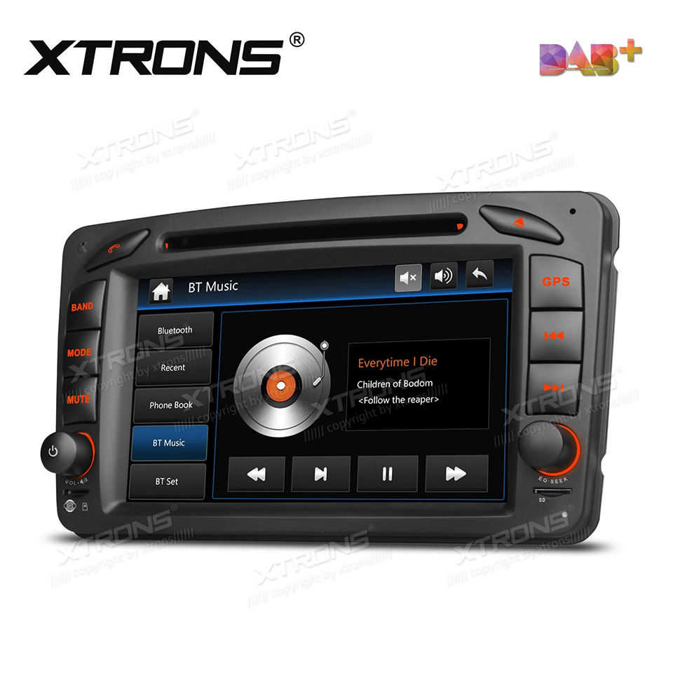 7 dab 2 din radio car dvd player gps for mercedes benz a w168 c class w203 clk class w209 g class w463 viano vito w639 stereo in car multimedia player