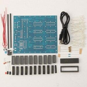 Image 4 - 8x8x8 LED קוביית 3D אור כיכר כחול LED אלקטרוני DIY ערכת מודול