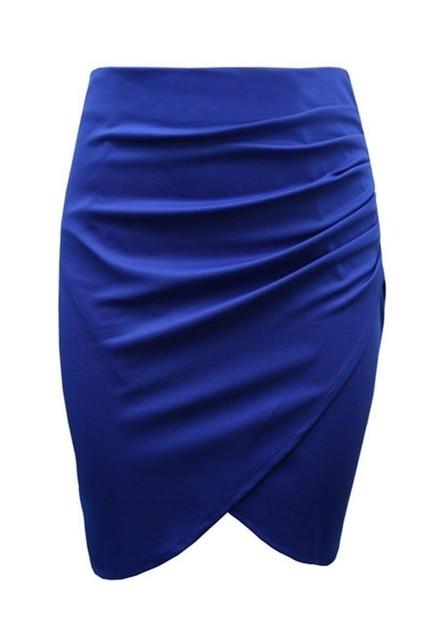 New Split Vintage Mini Bodycon Skirt High Waist Women Pencil Skirt Solid Elegant Lady OL Office Skirts For Female XS-XXL 5