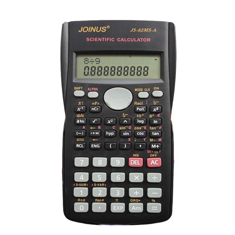 JOINUS JS-82MS-A студент мульти Функция al научных Функция калькулятор студент экспертизы калькулятор