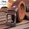 DWTS 2016 Real Cow Genuine Leather Men Belt Luxury Buckle Belts For Men Strap Male