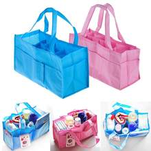 Fashion Mummy Maternity Baby Diaper Bag Portable Baby Diaper Nappy Changing Organizer Insert Baby Care Storage changing bag(China)