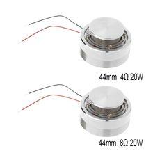 Altavoz de Audio portátil con vibración, 20W, 4ohm, 8Ohm, 44MM, bajo resonancia, envío directo