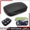 Pasajeros Posterior de la motocicleta Amortiguador 6 Ventosas de Succión Almohadilla Del Asiento Trasero Asiento Para Harley Softail Dyna Sportster Touring XL 883 1200