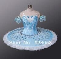 Бесплатная Доставка! для женщин синяя юбка; для взрослых Балетные Костюмы Одежда для танцев; Обувь для девочек профессиональные балерины Пл