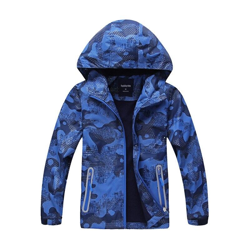 Aufrichtig 2019 Frühling Fashio Kinder Jungen Outwear Mäntel Neue N Wasserdicht Winddicht Mit Kapuze Jacken Für 5-14y Jungen Marke Kinder Sport Kleidung