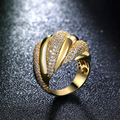 Nice Ring for Women Gold Plated Fashion ring Lead Free Color Stone ring Free Allergy Free Shipping