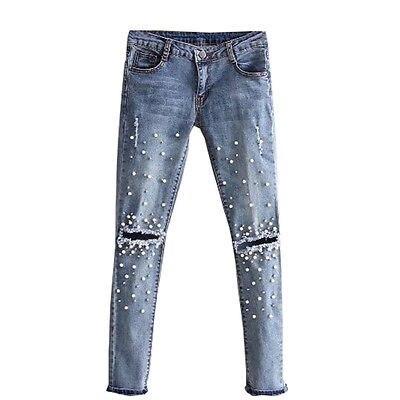 Slim Jeans Denim Pants Ladies Women
