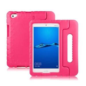 """Image 2 - Kind Tablet Stoßfest fall Für Huawei MediaPad M3 Lite 8 8,0 """"Silikon Abdeckung Für HUAWEI CPN L09 CPN AL00 W09 8 """"EVA Fall Abdeckung"""