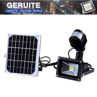 10W Cool White Outdoor Solar LED Lights Garden Lamparas 60 LEDs With PIR Motion Sensor Solares