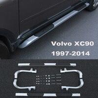 Для Volvo XC90 1997 2014 автомобилей Бег Панели Авто шаг в сторону Бар Педали для автомобиля Высокое качество Фирменная новинка оригинальный моделе