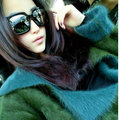 Europe and the United States a new woman Lapel two-sided wear wool Mink Cashmere knitted cardigans thick coat of long bag mail
