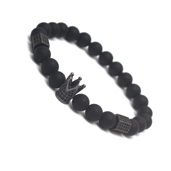 Men Bracelet Crown Bracelets Warrior Jewelry Skull Skeleton Titanium Steel Skull Banglge Bracelets Men Jewekry Halloween