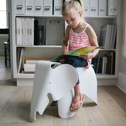 Dzieci zwierząt dzieci krzesło kształt słonia krzesło dla dzieci w pokoju mile widziane przez wodoodporne krzesła plastikowe PP łożyska