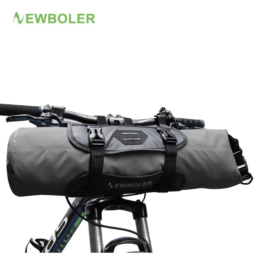 Bike Front Tube Bag Waterproof Bicycle Handlebar Basket Pack Cycling Useful New