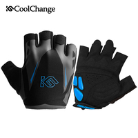 CoolChange Cycling Gloves Summer Sports Anti Sweat GEL Bicycle Gloves Anti Slip Breathable Half Finger Bike
