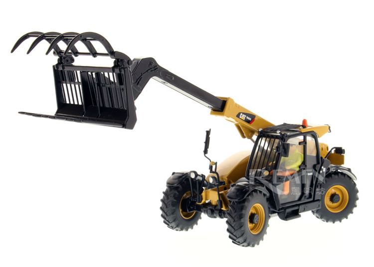 Exquisite DM 1:32 Caterpillar CAT TH407C Telehandler with Attachments Vehicles 85278 Diecast Toy Model for Collection,DecorationExquisite DM 1:32 Caterpillar CAT TH407C Telehandler with Attachments Vehicles 85278 Diecast Toy Model for Collection,Decoration