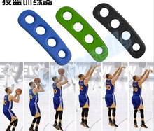 1pcs Stephen Curry Silicone Gesticulation Correct ShotLoc Basketball Ball Shooting Trainer Three-Point Shot Size for Kids Adult(China)