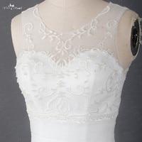Rsw1377 yiaibridal реальной работы Best пышные цвета слоновой кости Вышивка Русалка свадебное платье элегантный