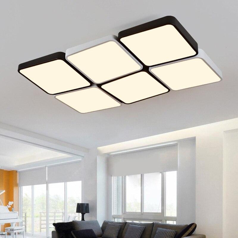 (EICEO) LED Tavan Lampa Düzbucaqlı Müasir Minimalist Ultra nazik - Daxili işıqlandırma - Fotoqrafiya 3