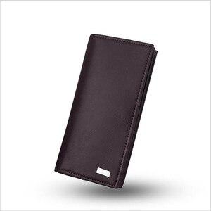 Image 3 - DEABOLAR hommes portefeuilles porte carte en cuir PU mâle portefeuille longue conception qualité passeport couverture mode décontracté hommes sac à main en vente