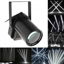 цена Stage Light  White Beam Pinspot Light Spotlight Super Bright Lamp Mirror Balls DJ Disco Effect Stage Lighting for KTV DJ Party онлайн в 2017 году