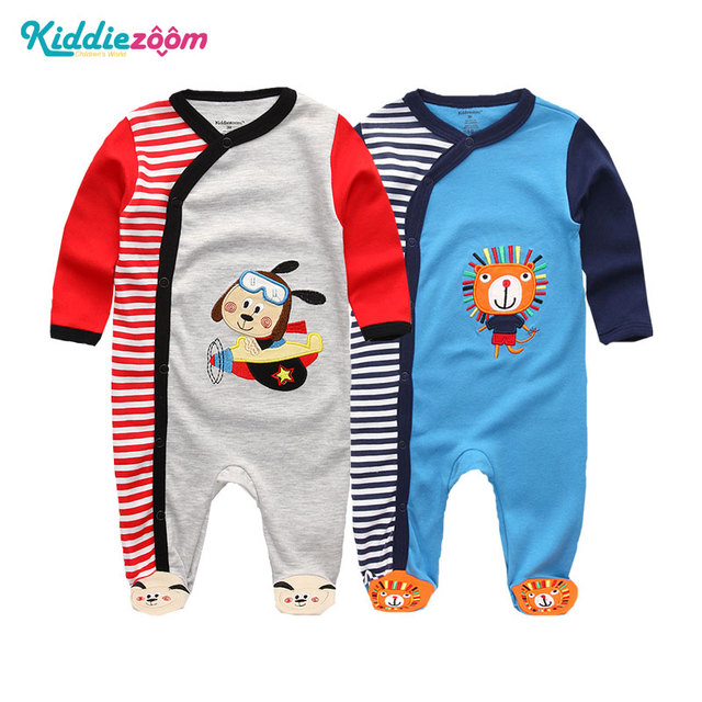 Clothing Sets Baby Girl Clothes Full Sleeve Ropa bebe 0-12M Cotton Bodysuit Costumes Baby Boy Clothes Newborn Baby Clothes