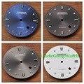 As Peças do relógio, debert 34mm preto/azul/cinza/branco mostrador do relógio para miyota8205/8215/82 série, Mingzhu Movimentos Automáticos DD7032