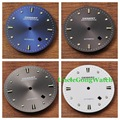 Watch Parts, Debert 34mm Black / Blue / Gray / White Watch Dial for Miyota8205/8215/82series, Mingzhu Automatic Movements DD7032