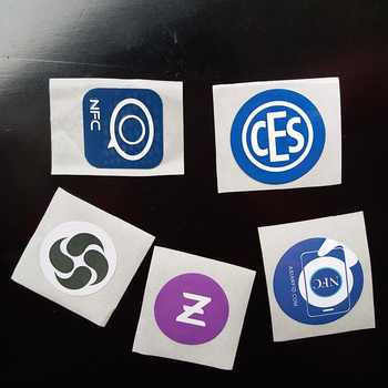 1000pcs Custom Printing Ntag213 NFC Stickers NFC RFID Tag 13.56MHz ISO14443A  Customize Printed Ntag 213 Sticker Custom Chips LF - DISCOUNT ITEM  0% OFF All Category