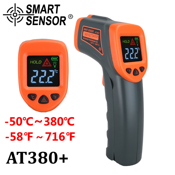 Digital Voltage Tester Meter Non Contact Infrared Thermometer Measurement Tool