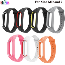 Sport band For Xiaomi MiBand 2 strap Replacement silicone wathc wristband 2/Pedometer Bracelet Accessories