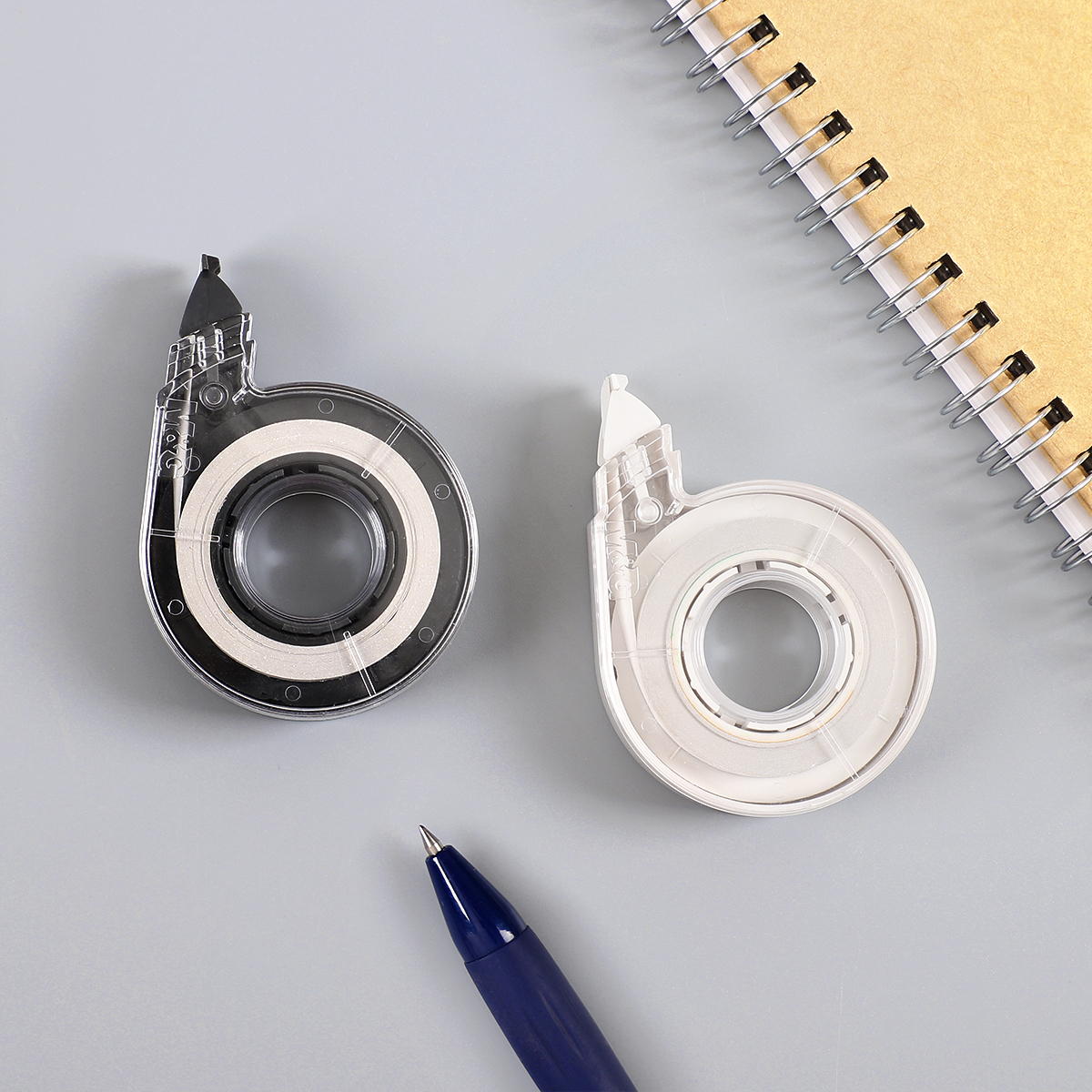 JIANWU 1PC 12m Simple Style Correction Tape Student Stationery High-capacity Modify Tape Kawaii School Supplies