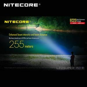 Image 5 - 1800 lumens Nitecore EC23 CREE XHP35 HD E2 LED ביצועים גבוהים פנס עם סוללה (IMR18650 2500mAh 35A)