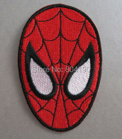 Spiderman face logo - photo#32
