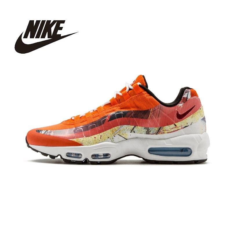 NIKE AIR MAX 95 Original hommes chaussures de course Sport chaussures de plein AIR respirant baskets pour hommes #872640
